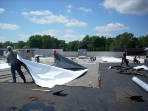 Commercial Flat/Low slope Roofing Repairs